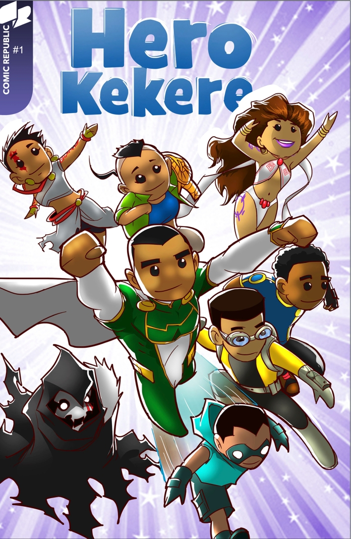 Hero Kekere #1 comic cover