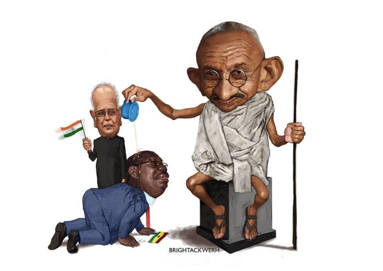 #Ghandi4ComeDown