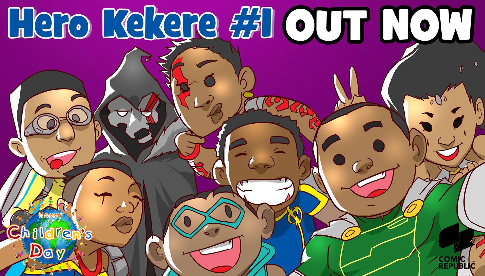 Hero Kekere by Comic Republic