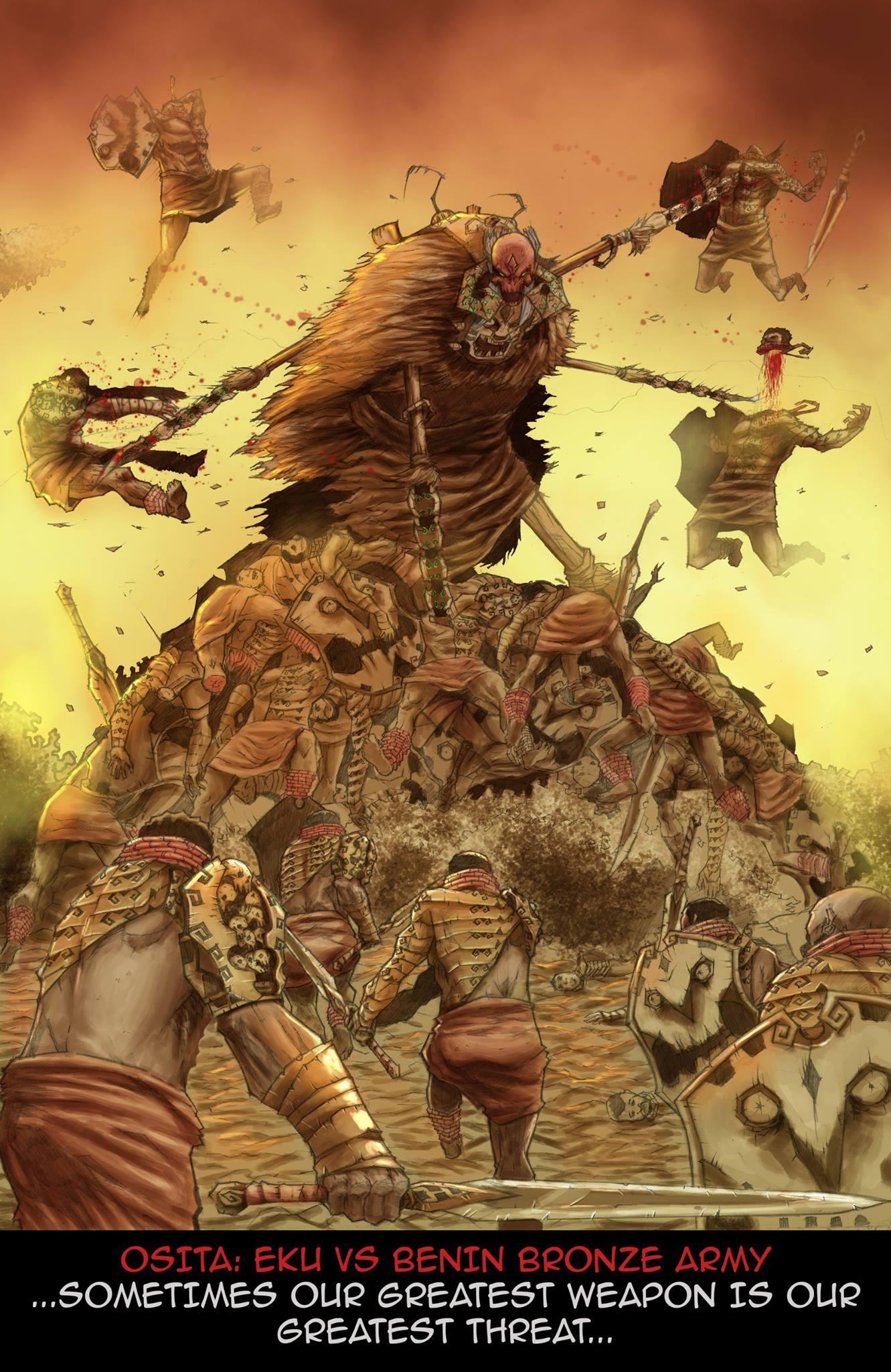 Osita by Mad! Comics. Written by Hafeez Oluwa