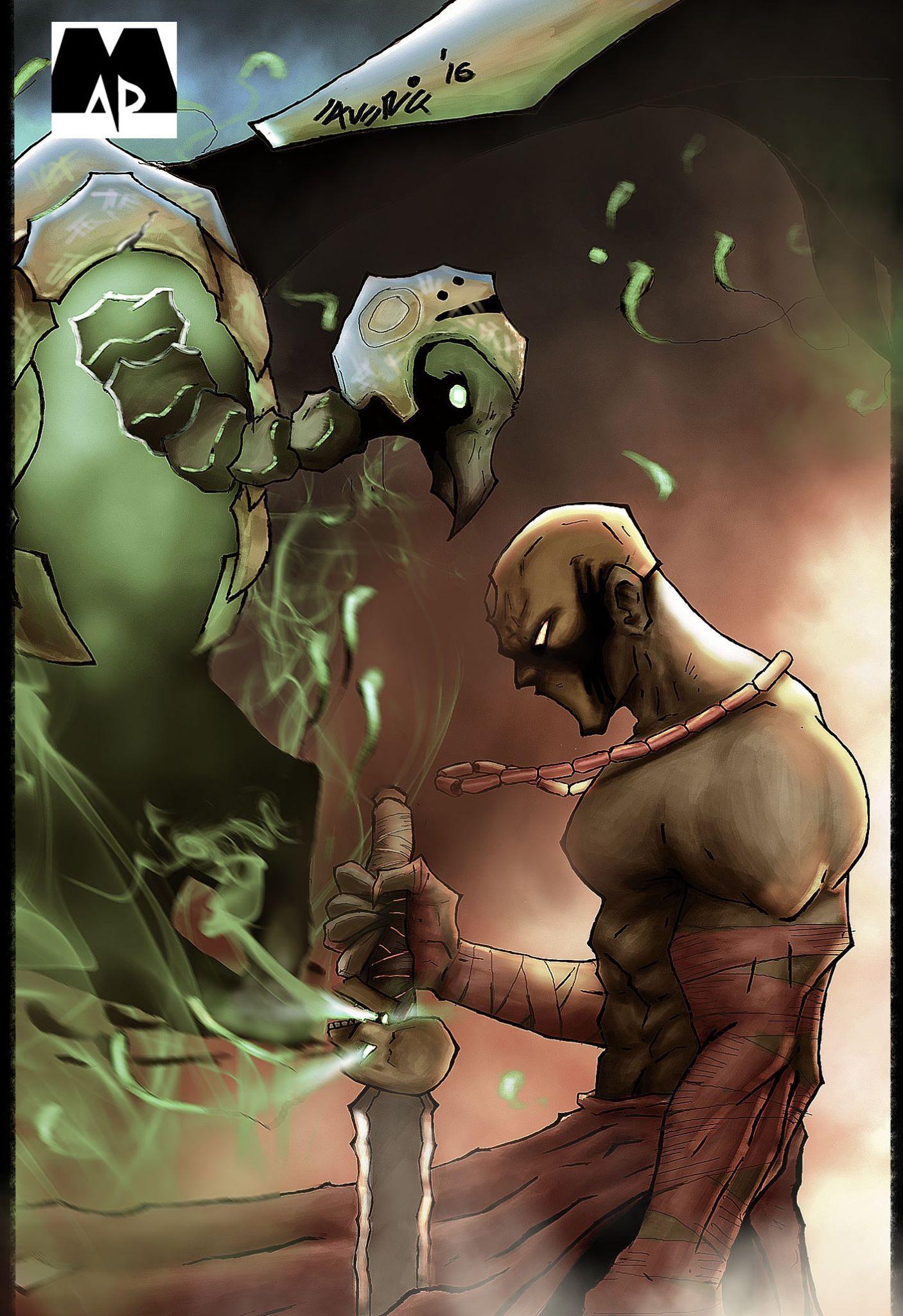 Oro comic book by MAD! Comics. Written by Hafeez Oluwa