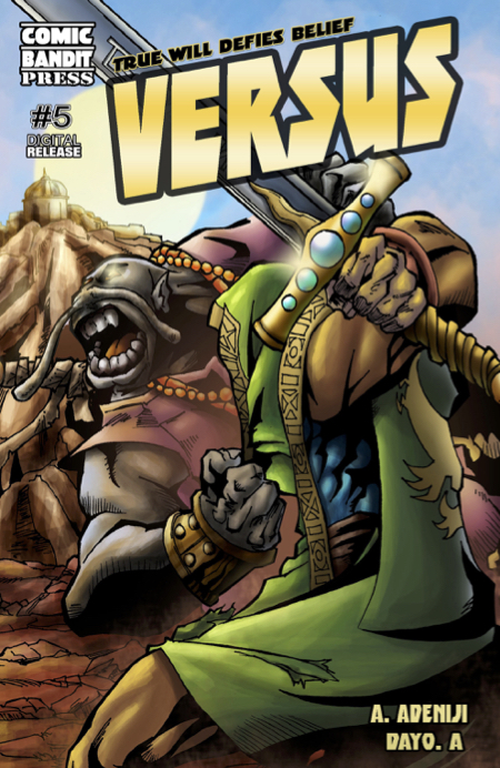 Versus issue 5 comic cover
