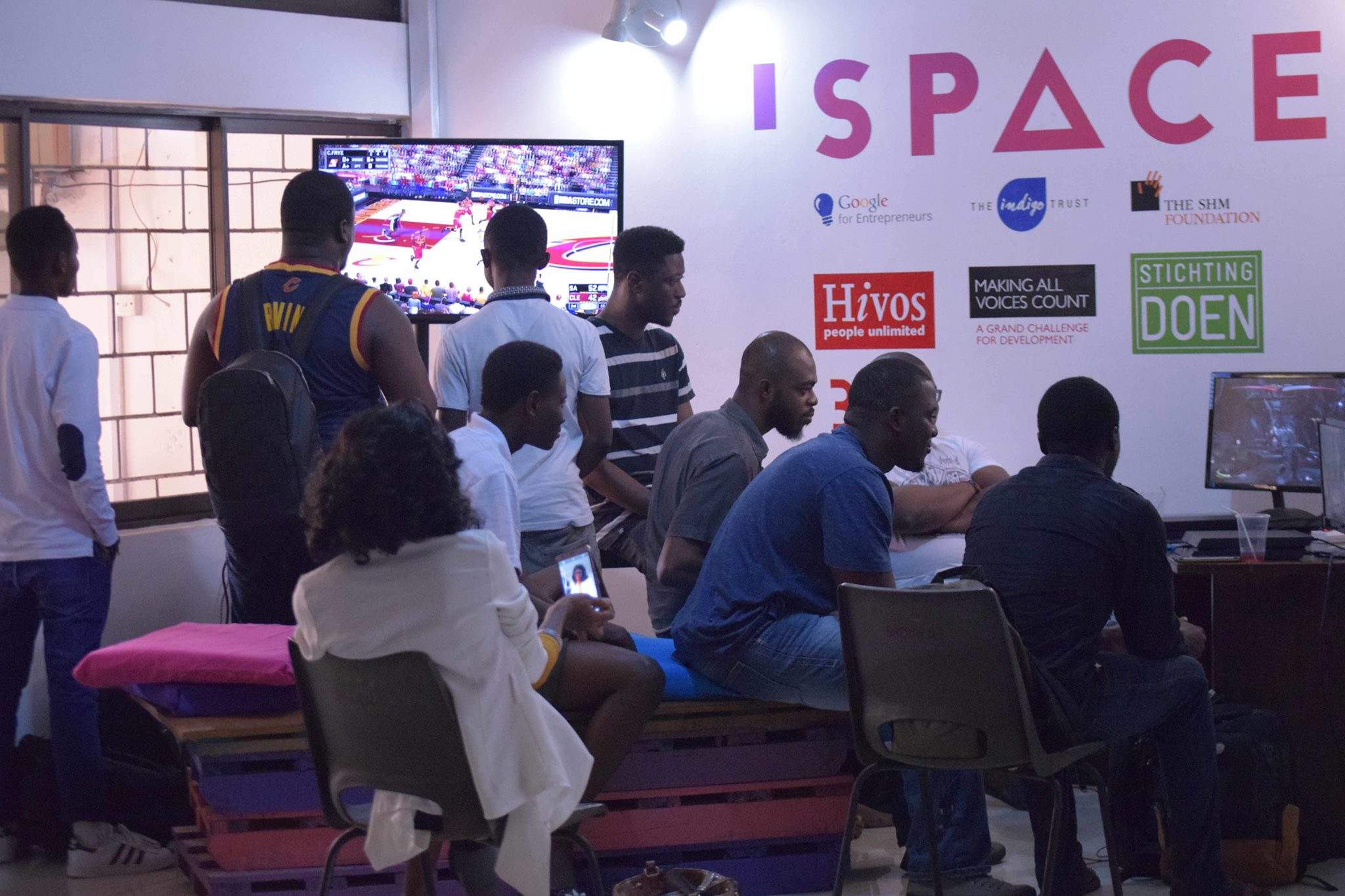Global Game Jam Accra at iSpace in Labone