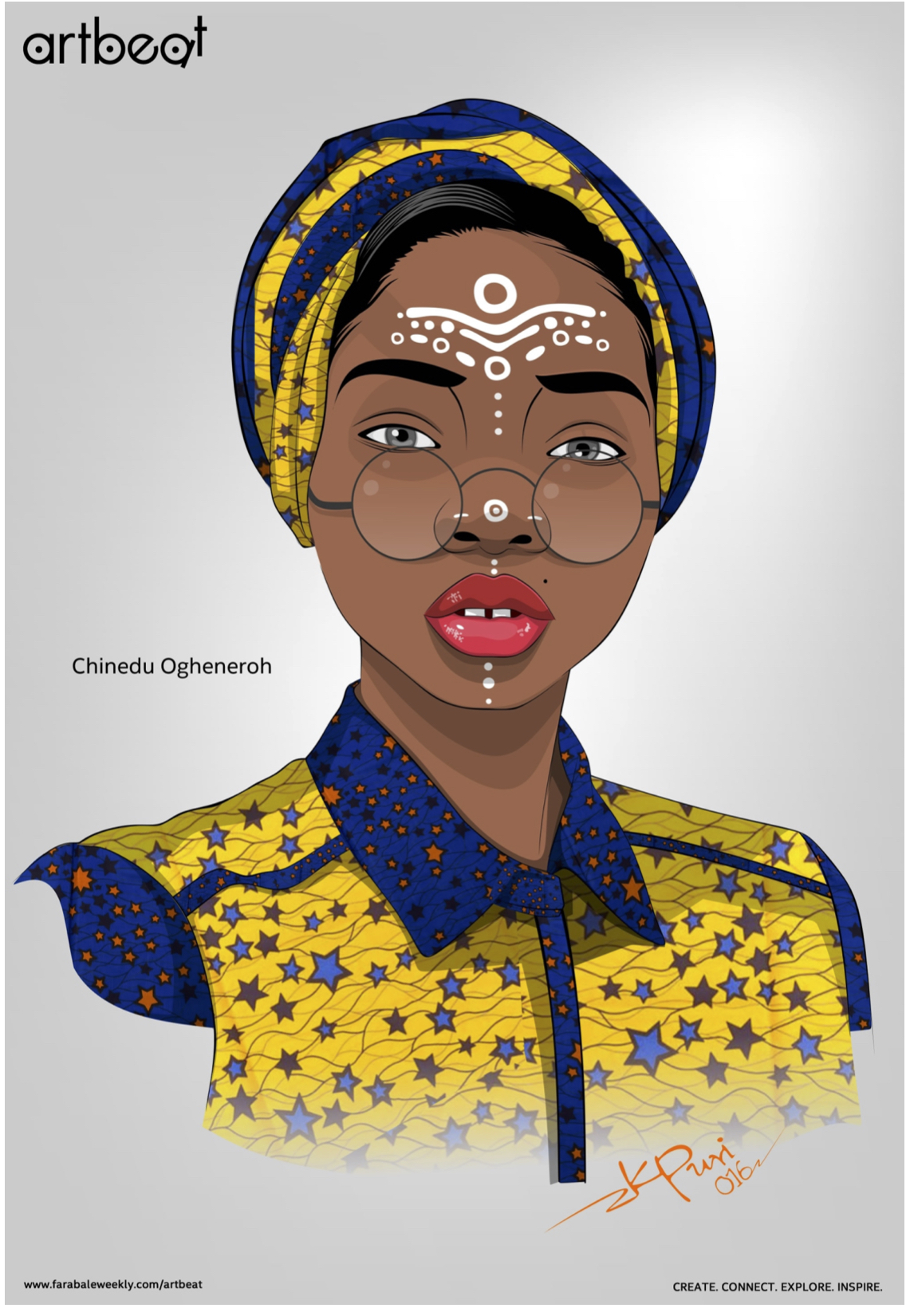 chinedu-oghenero submission to Farabale Artbeat 100