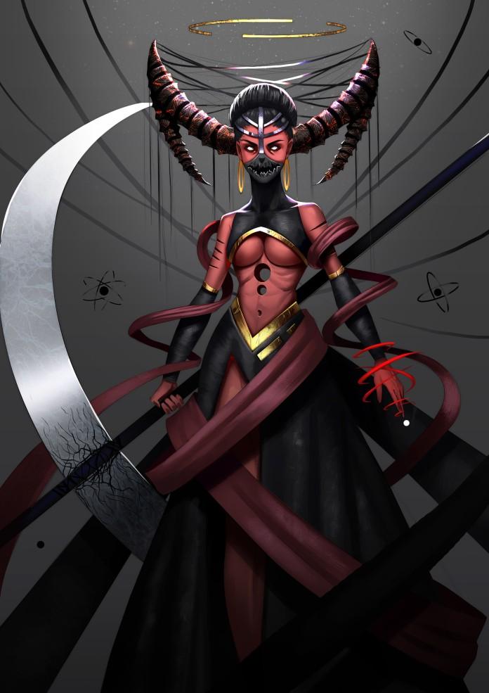 God of Wrath as seen on Nubiamancy