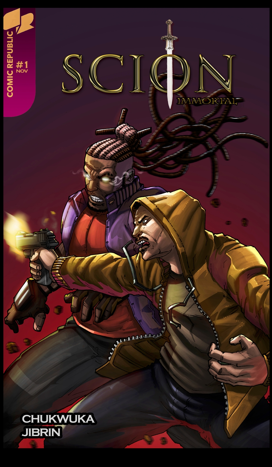 Cover of Scion: Immortal is an African comic published by Comic Republic