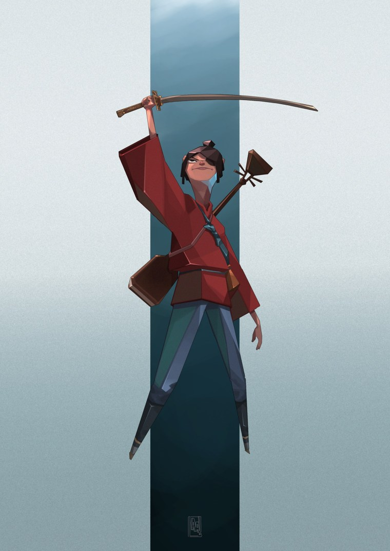 Kubo from Kubo and the Two Strings (inspired by Tan ZhiHuii's)