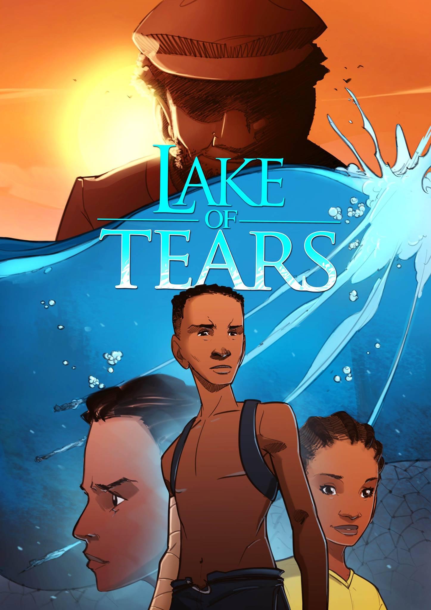 Lake of Tears Cover | comic by Setor Fiadzigbey