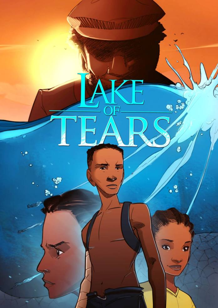 Lake of Tears Cover | comic by Setor Fiadzigbey