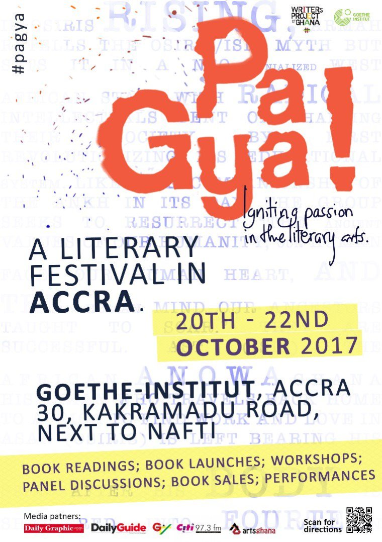 Pa Gya! A Literary Festival In Accra Poster