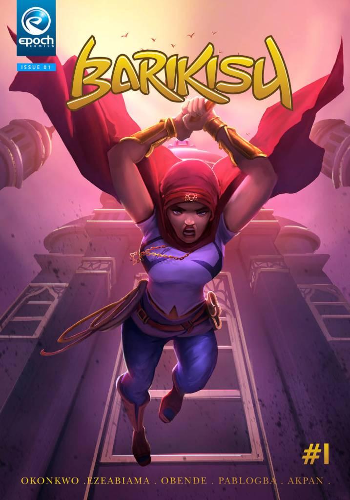 Barikisu African comic published by Epoch Comics