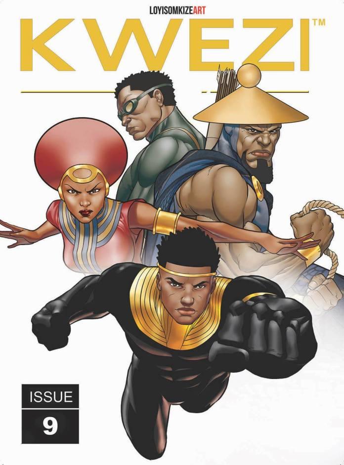 Kwezi Issue 9 African Comics