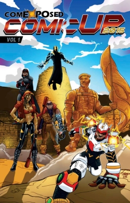 African Comic Anthology ComicUP Volume 1 by Comexposed