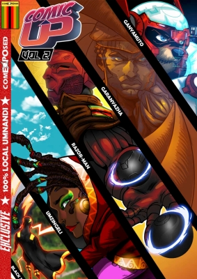 ComicUP Volume 2 An African Comic Anthology from Zimbabwe by Comexposed